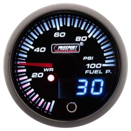 Fuel Pressure Gauge (W/Waterproof Sensor)</br> </br>PS110