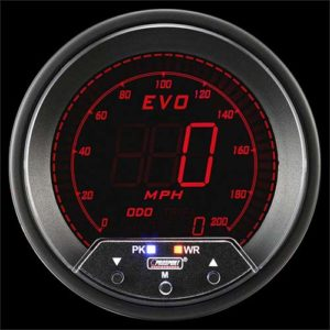 85mm EVO Series Speedometer 4 Color Digital LCD Display with Peak & Warning</br> </br>PS1200