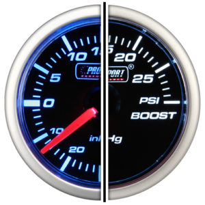 Mechanical Boost Gauge </br></br>PS208BW
